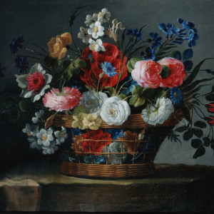 Basket of Flowers - Juan de Arellano