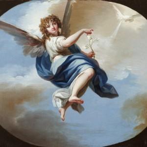 Saint Gabriel the Archangel - Zacarías González Velázquez