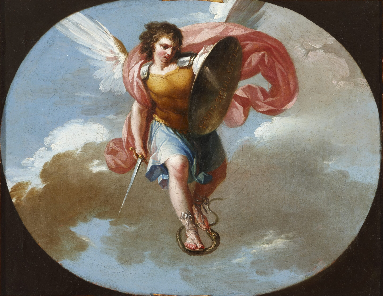 Saint Michael the Archangel - Zacarías González Velázquez