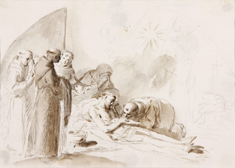 Death of Saint Francis - José Camarón Bonanat