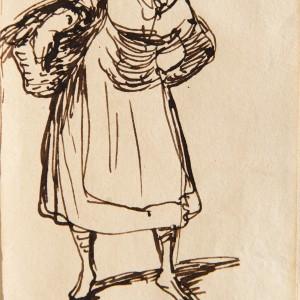 The Street Seller - Leonardo Alenza