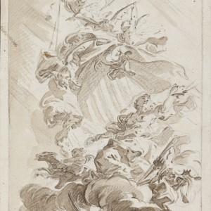 Allegory of Valencia - Vicente López Portaña