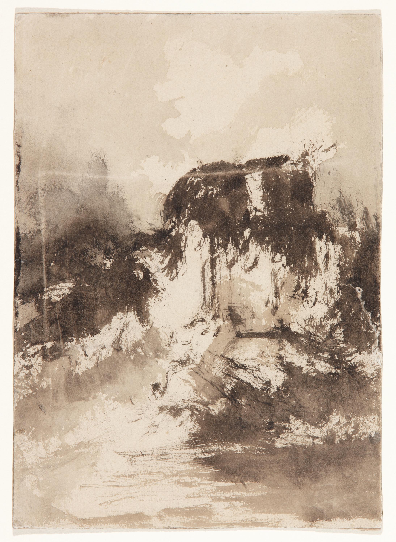 Stormy Landscape - Eugenio Lucas Velázquez