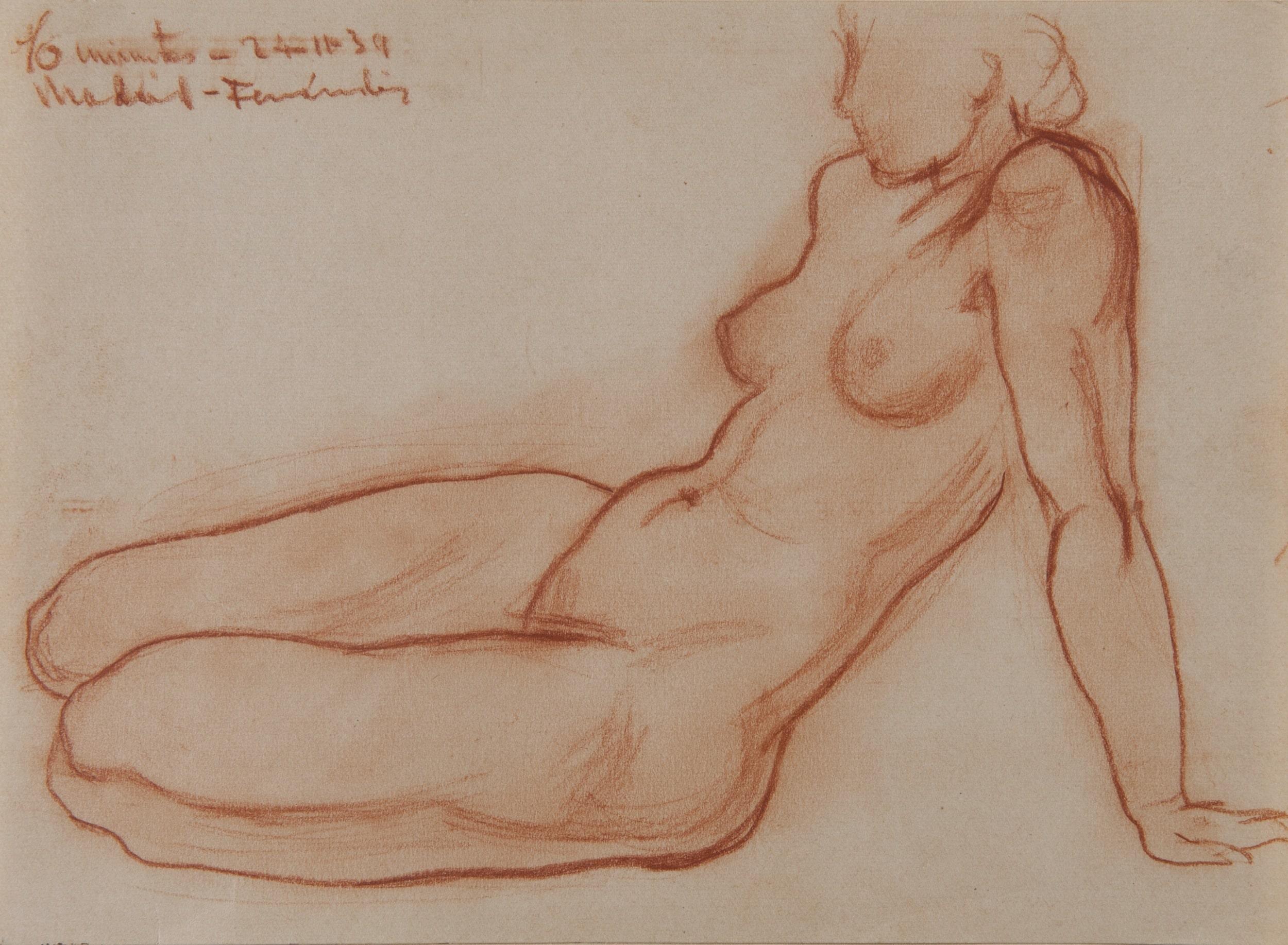 Female Nude - Tomás Ferrándiz