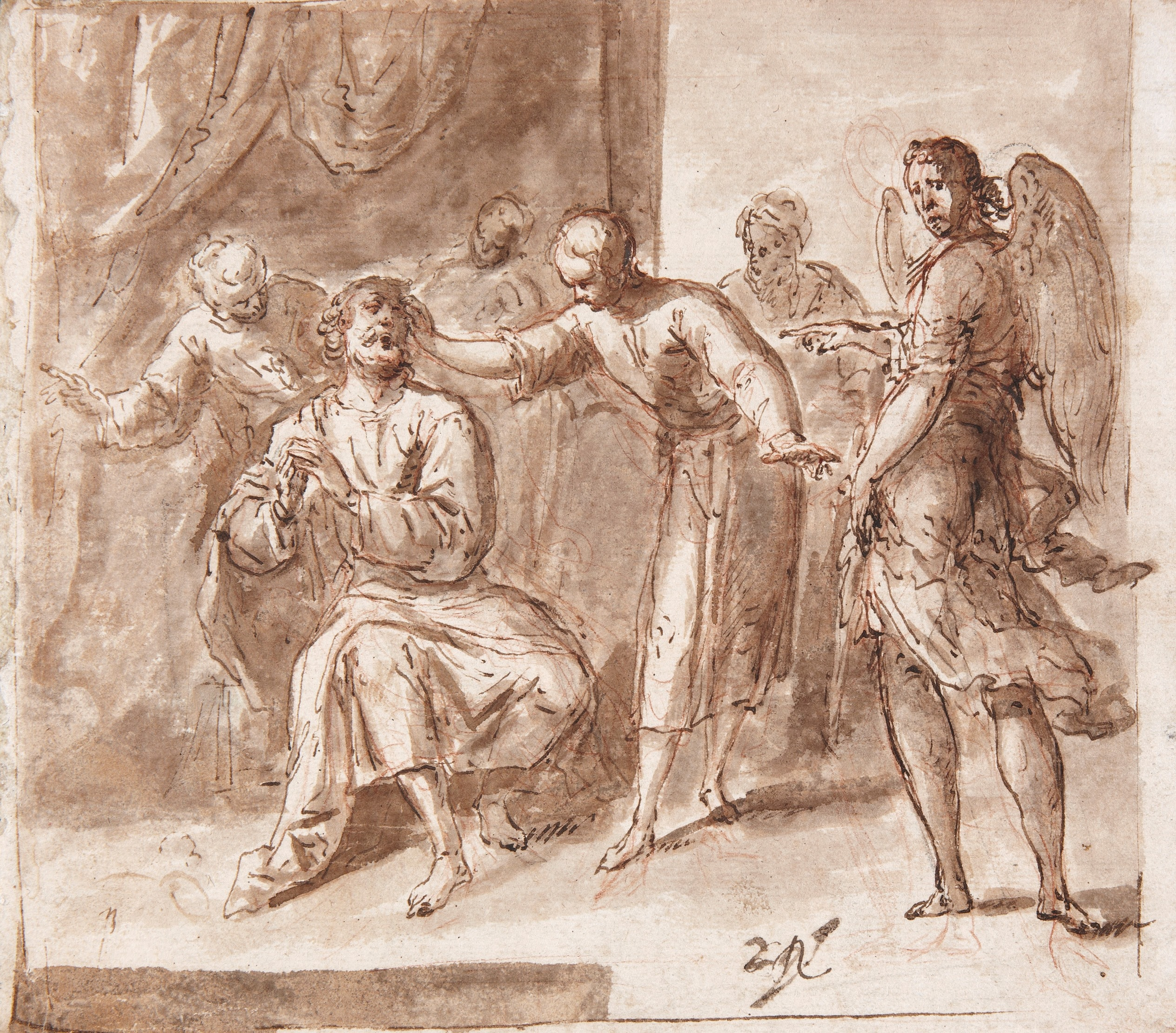 Tobias healing his Father - Antonio de Pereda