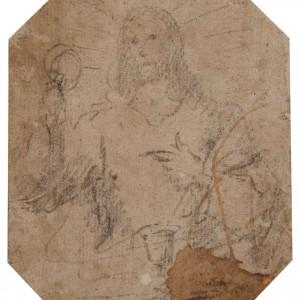 The Eucharistic Christ - Valencian School 16th century