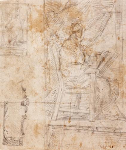 Study for a seated Man - José Jiménez Donoso