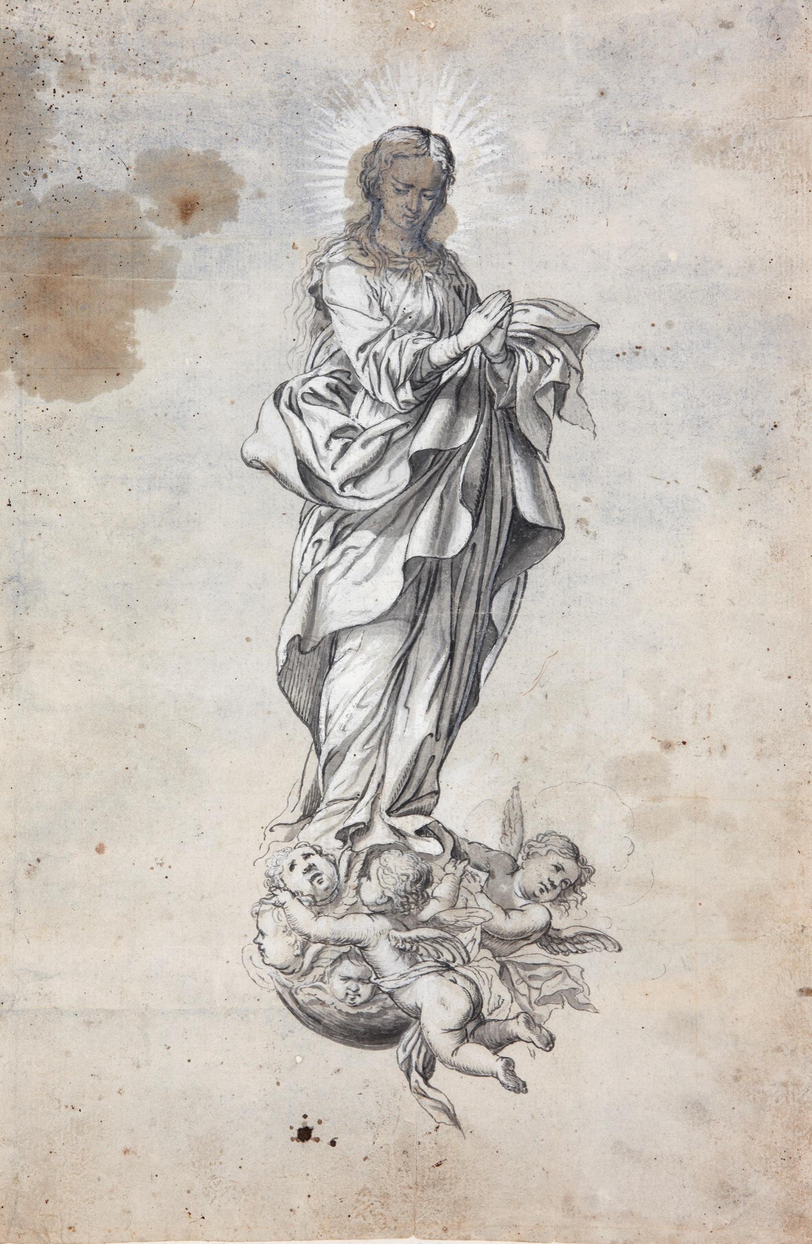 The Immaculate Conception - Granada School, 17th century