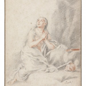 The penitent Magdalen -