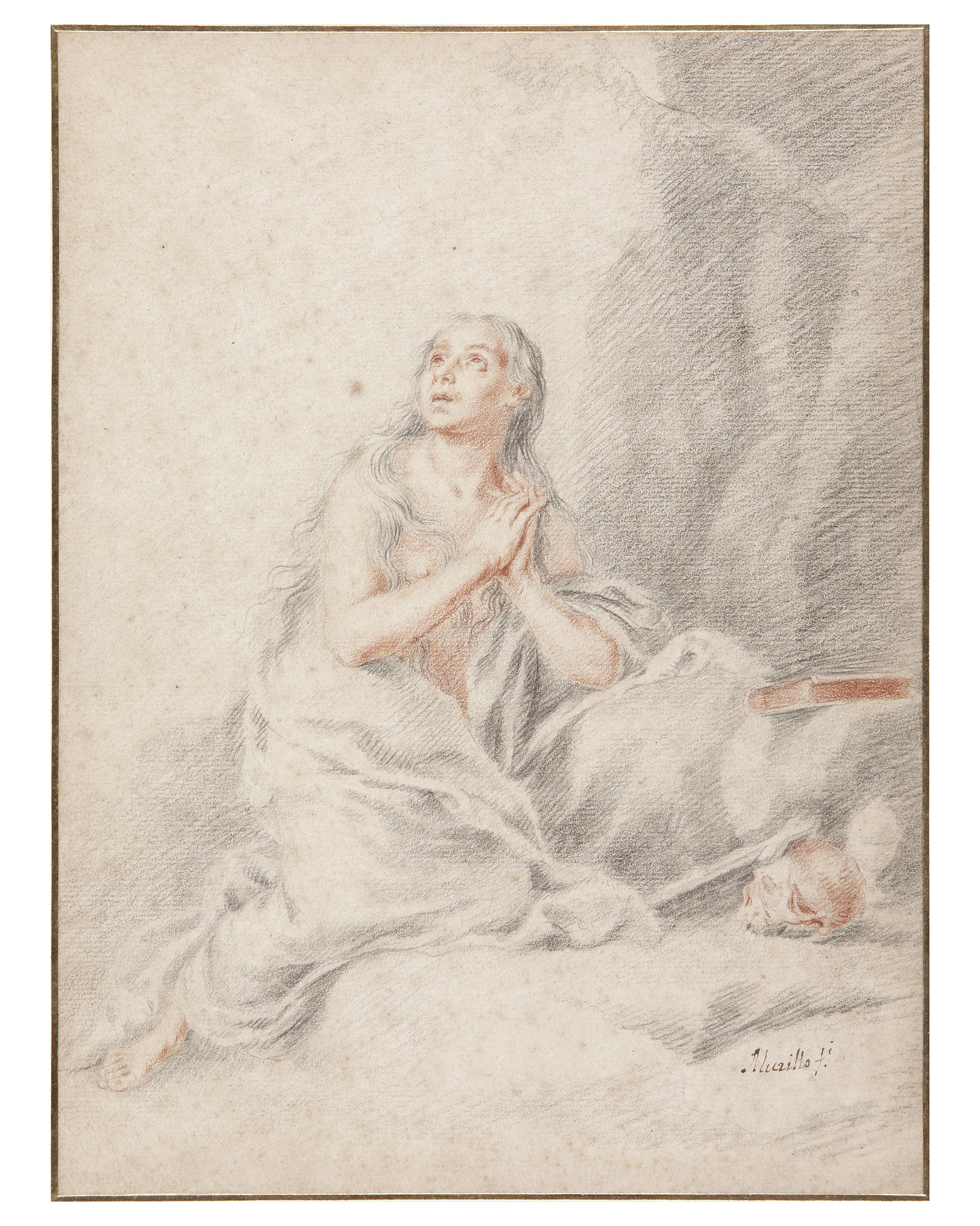 The penitent Magdalen - Bartolomé Esteban Murillo