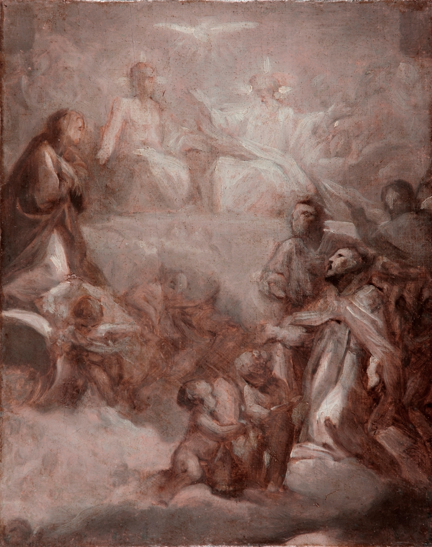 The Holy Trinity in Glory - Anton Raphael Mengs