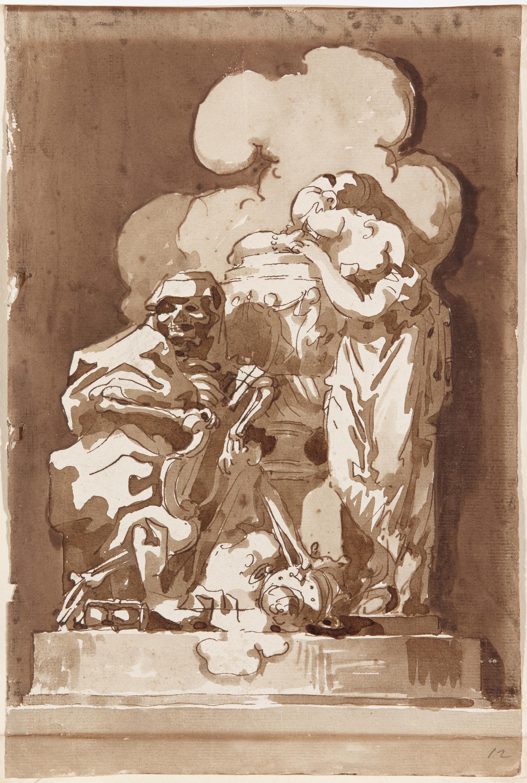 Allegory of Death - Charles François de la Traverse
