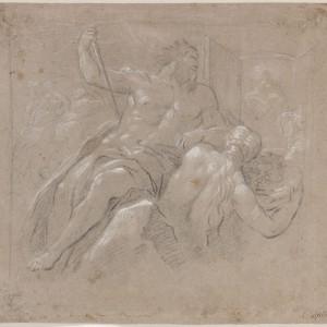 Deucalion and Pyrrha - José del Castillo