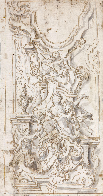 Allegory of Charity - Domingo Martínez
