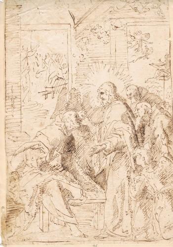 The Apparition of Christ to Saint Vincent Ferrer - Vicente Salvador Gómez