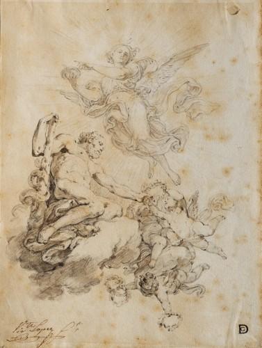 Allegory of Hercules - Vicente López Portaña