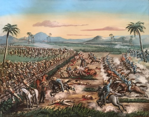 Scene from the Cuban War of Independence - Cuban School, 19th century