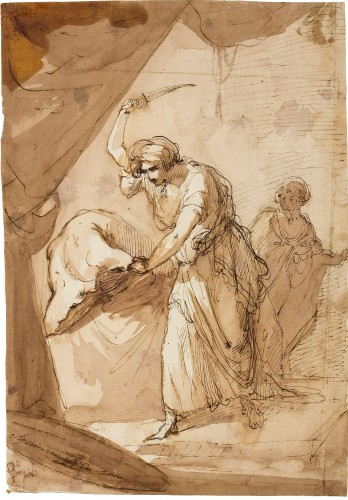 Judith Beheading Holofernes - Domingos António de Sequeira