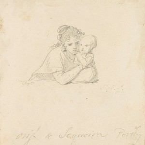Mother Holding a Child in her Arms - Domingos António de Sequeira