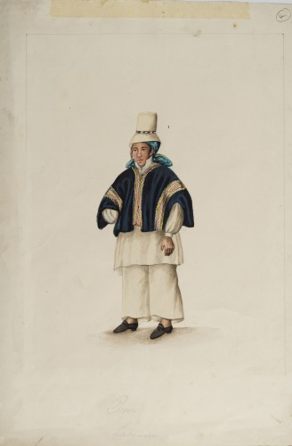 Labourer - Ecuadorian School, 19th century
