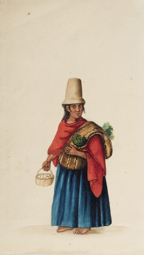 Country Woman - Ecuadorian School 19th century