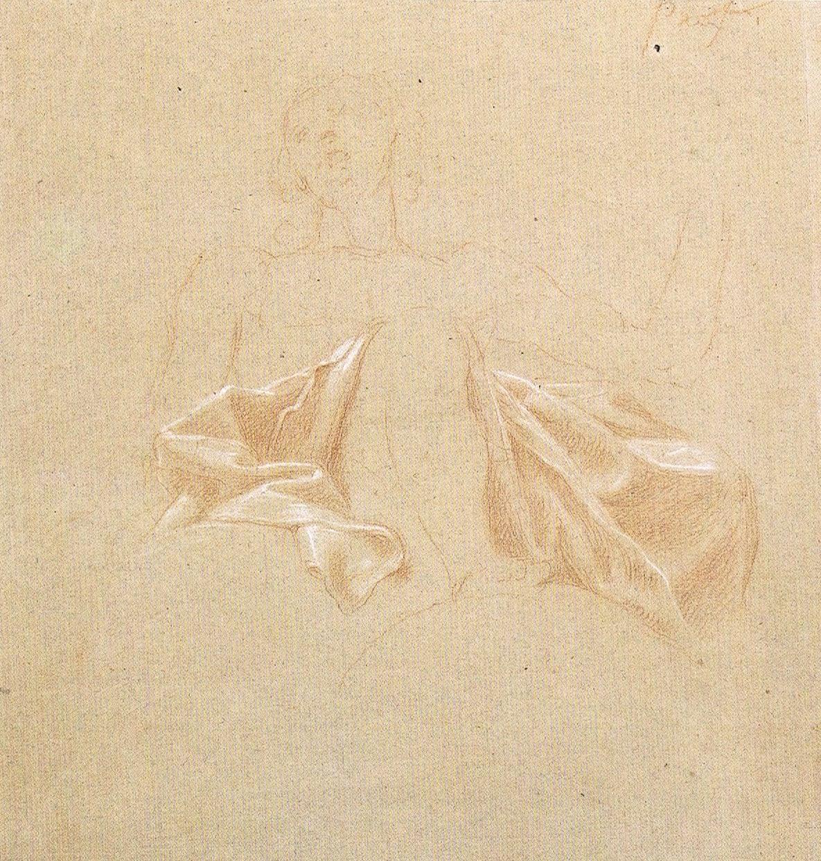 Study of Draperies - Francisco Bayeu