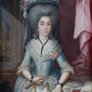Portrait of doña María Catalina de Urrutia - José Campeche