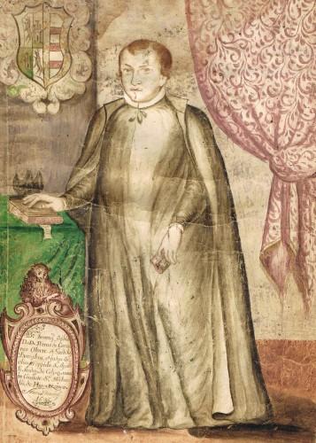 Portrait of Don Pedro de Carranza Olarte y Gaztelu - José Rodríguez Carnero, attributed to