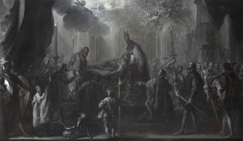 The Burial of the Count of Orgaz - Miguel Jacinto Meléndez