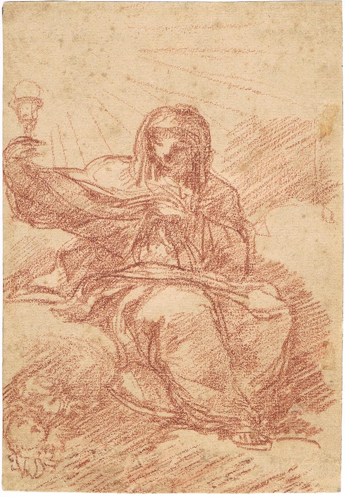 Allegory of Faith - Spanish School 18th century