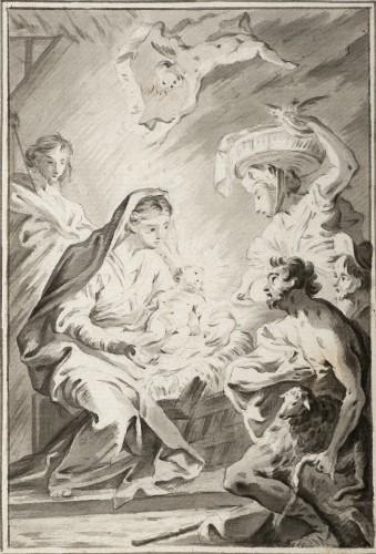 The Adoration of the Shepherds - Vicente López Portaña
