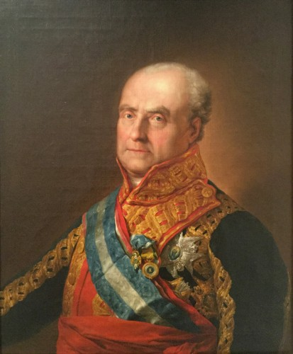 Portrait of a Spanish General - Vicente López Portaña
