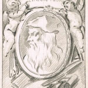 Portrait of Leonardo da Vinci - José del Castillo
