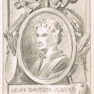 Portrait of Leon Battista Alberti - José del Castillo