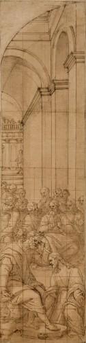 Christ washing his Disciples' Feet - Romulo Cincinato