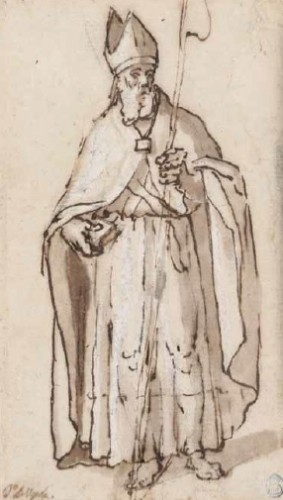 A Bishop Saint - Juan de Uceda