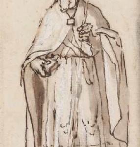 A Bishop Saint - Juan de Uceda