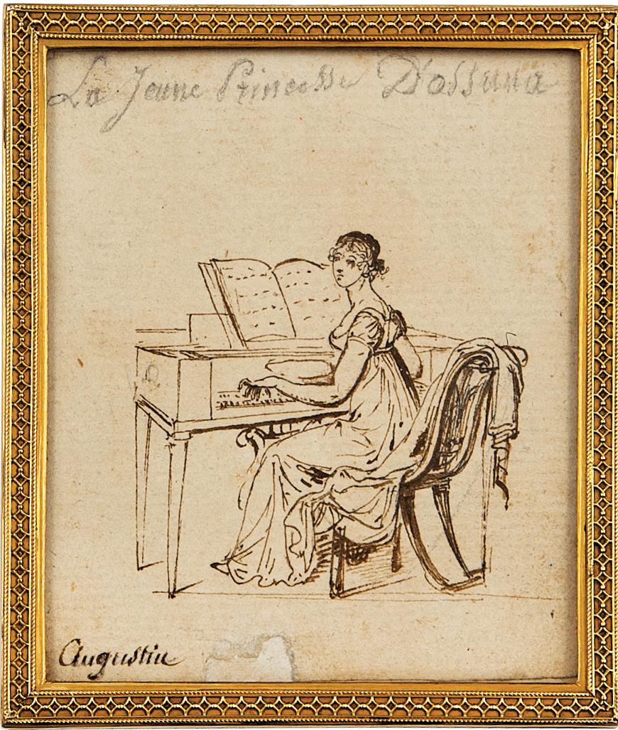 Josefa Manuela Téllez-Girón y Pimentel, Marchioness of Camarasa - Jean Baptiste-Jacques Augustin