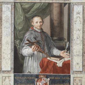 Portrait of the Venerable Juan de Palafox -