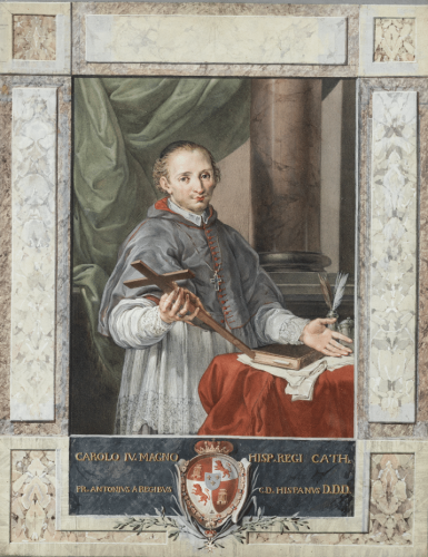 Portrait of the Venerable Juan de Palafox - Tomasso Maria Conca
