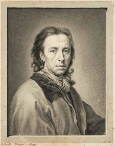 Portrait of Anton Raphael Mengs - José Joaquin Fabregat
