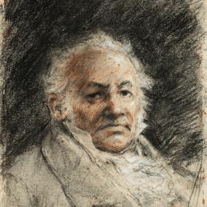 Portrait of Francisco de Goya -