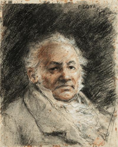 Portrait of Francisco de Goya - Francisco Domingo Marqués