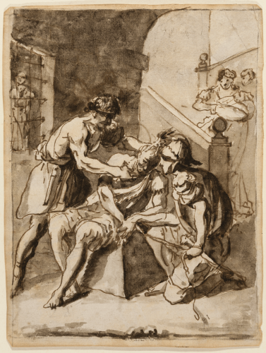 Saint Hippolytus, martyr - Antonio González Velázquez