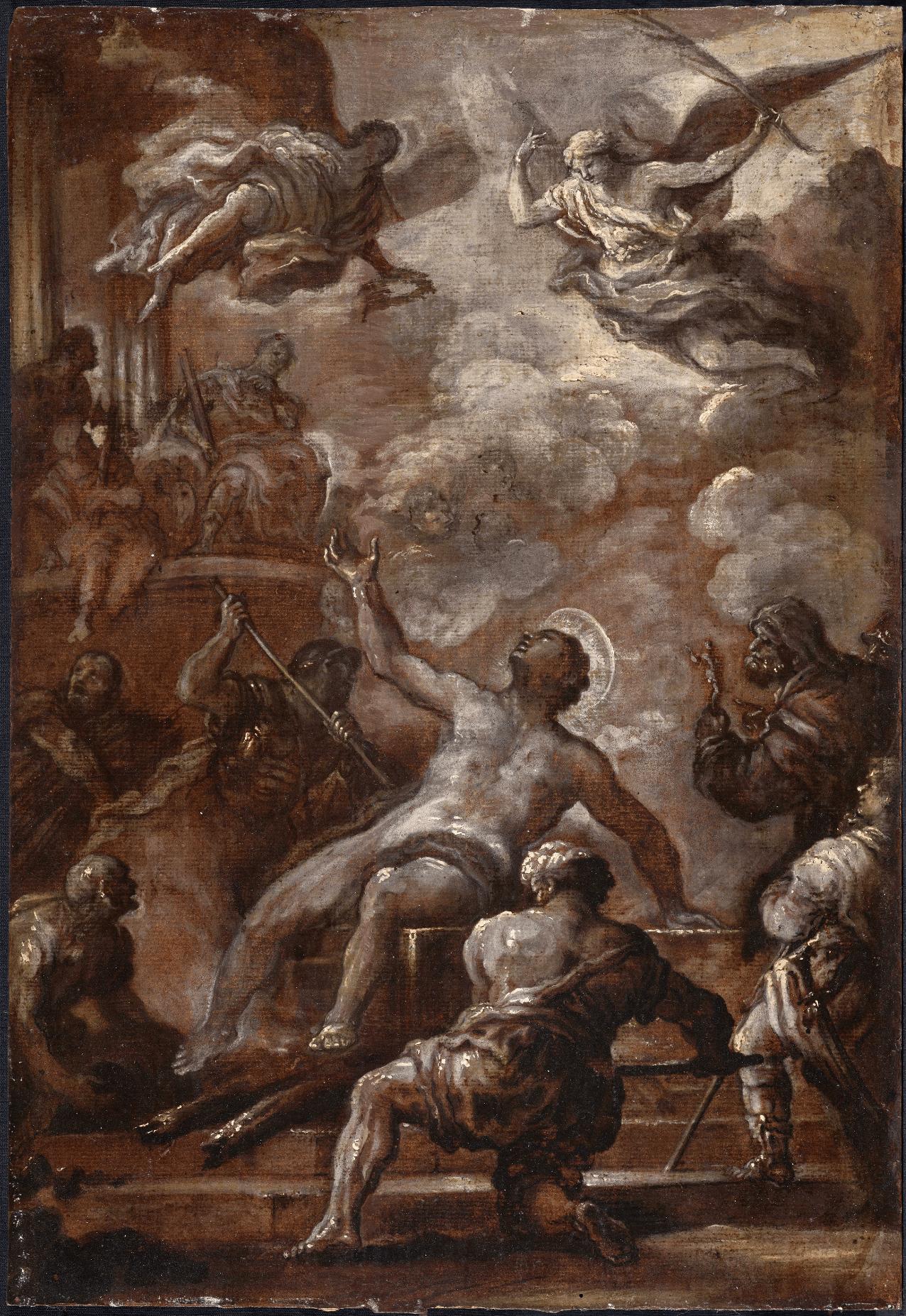 Martyrdom of Saint Lawrence - Luca Giordano
