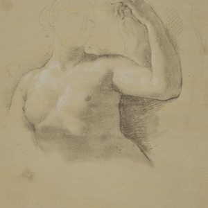 Study for the figure of Venus in the fresco of The Apotheosis of Hercules in the Royal Palace, Madrid -