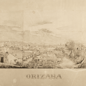 View of the City of Orizaba -