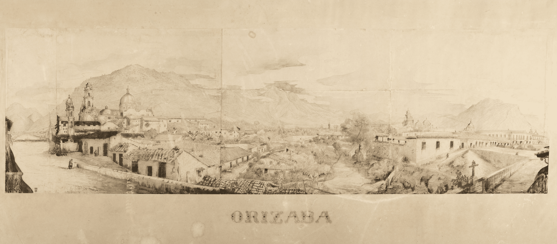View of the City of Orizaba - Julius Hoffman