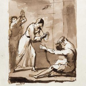 Faith visiting the captives -