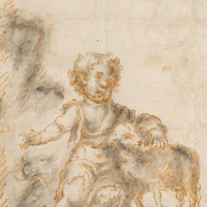 Saint John the Baptist Child with the Lamb -